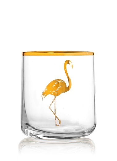 Rakle 260 cc Flamingo Mesrubat Bardagı Altın